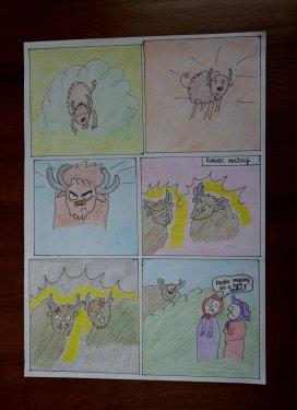 Zespół Szkół Ogólnokształcących - Komiks